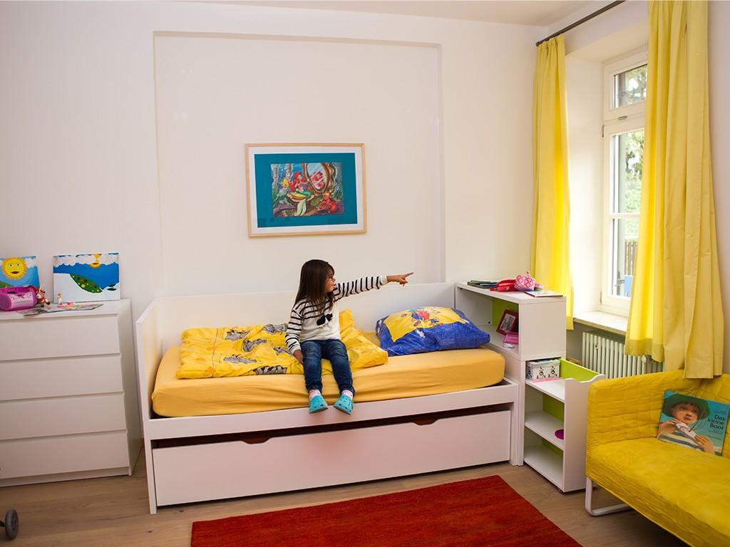 Kinderzimmer im Kinderhaus Tutzing